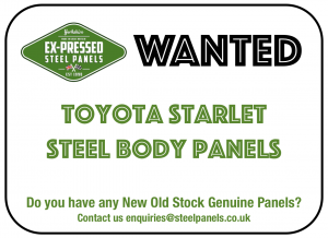 wanted Toyota Starlet
