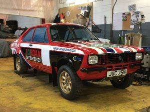 Ex Works Avenger GT BRM Group 4 Rally Car JVC 75N
